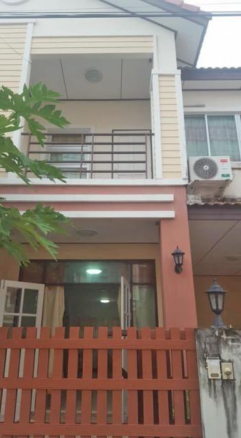 6A90966 ให้เช่าบ้านแฝด 2 ชั้น 3 ห้องนอน 2 ห้องน้ำ เดือนละ 13,000 บ.
