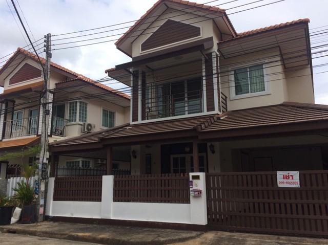 6A90960 ให้เช่าบ้านเดี่ยว 2 ชั้น บ้านในโครงการพื้นที่ 40ตรว.