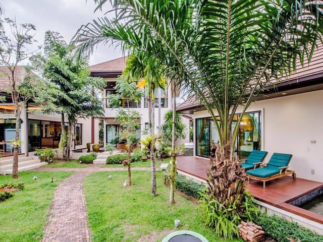 6A50178 ให้เช่าบ้าน Pool Villa  2ชั้นและชั้นเดียว พื้นที่ 275 ตรว.