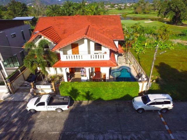 6A111740 ให้เช่าบ้าน Pool Villa 2 ชั้น พื้นที่ 83 ตรว. พร้อมสระว่ายน้ำส่วนตัว.