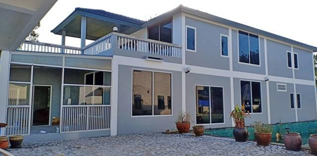6A120546 ให้เช่าบ้านเดี่ยว 2 ชั้นออกแบบสไตร์ยุโรป พื้นที่ 215 ตรว