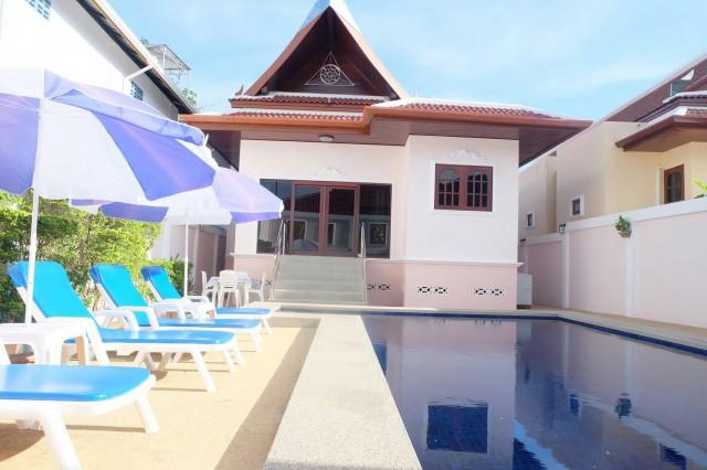 6A80486 ให้เช่าPool Villa ชั้นเดียว พื้นที่ 500 ตรว. พร้อมสระว่ายน้ำส่วนตัว.