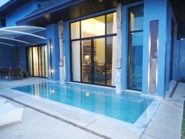 6A40370ให้เช่าบ้าน Pool Villa  2 ชั้น พื้นที่ 40 ตรว. พร้อมเฟอร์นิเจอร์