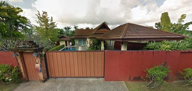 6A40385ให้เช่าบ้าน Pool Villa ชั้นเดียว พื้นที่ 632 ตรม. พร้อมสระว่ายน้ำส่วนตัว.