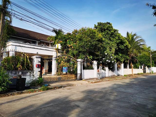 6A91006 ให้เช่าบ้านเดี่ยว 2 ชั้น บ้านหลังใหญ่ พื้นที่ 130 ตรว.