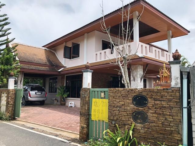 6A120563 ให้เช่าบ้านเดี่ยว 2 ชั้น  บ้านหลังใหญ่ พื้นที่ 110 ตรว.