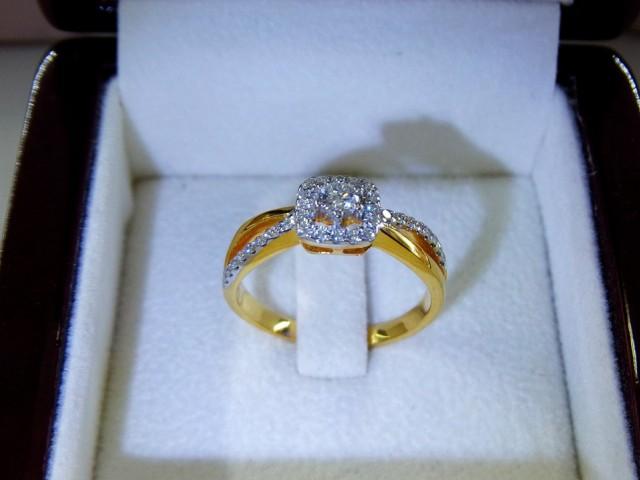 แหวนเพชรแท้ แหวนหมั้น แหวนแต่งงาน ห้างเพชรกาญจน์ ขอนแก่น มีหน้าร้านชัดเจน