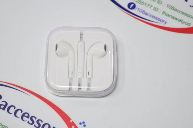 หูฟัง iPhone ราคาถูก Apple EarPods ของใหม่ แท้ศูนย์ TH จากกล่อง iPhone 6 แท้