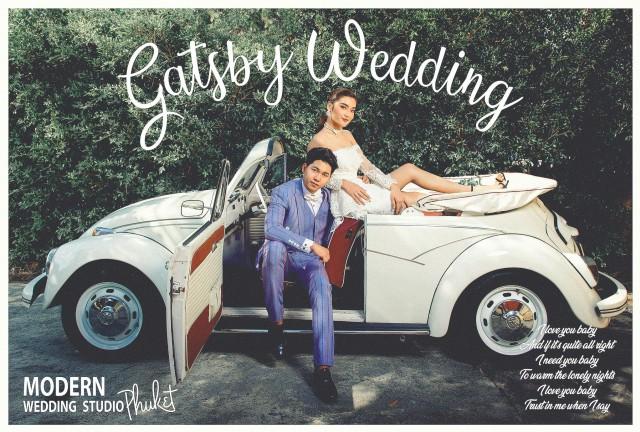 ถ่ายภาพพรีเวดดิ้งภูเก็ต  Gatsby Style Pre Wedding