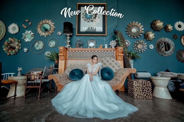 ถ่ายภาพพรีเวดดิ้งภูเก็ต ถ่ายภาพโลเคชั่น indoor สวยๆ กับชุดแต่งงานสุดหรู