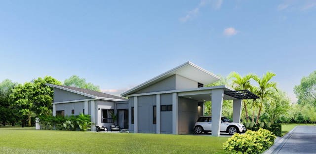 NAI HOME บ้านเดี่ยว(บ้านใหม่)  พรุสมภาร  ถลาง  ใกล้สนามบินภูเก็ต