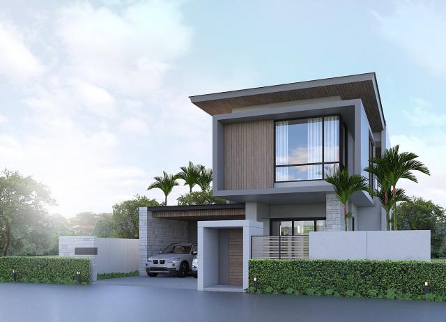 NAI HOME บ้านใหม่Pool Villasในหมู้บ้านแลนด์แอนด์เฮ้าส์ปาร์คฉลอง  ในเมือง  ภูเก็ต