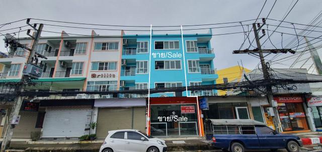 ขายอาคารพาณิชย์ หาดกะตะภูเก็ต 4 ชั้น 1 คูหา ทำเลใจกลางย่านนักท่องเที่ยว